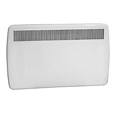 1500W/240V Electric Panel Convection Heater - White