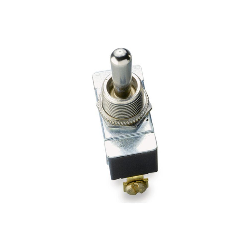 Interrupteur à bascule O/F/O unipolaire et bidirectionnel de 20A/125V c.a.