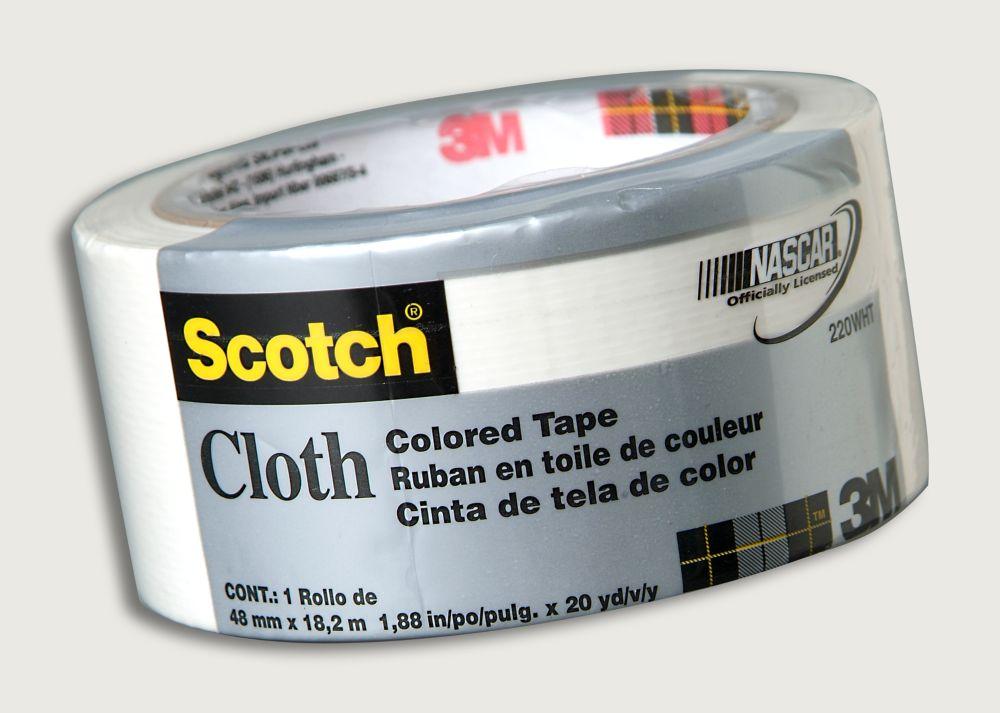 3M Scotch Cloth 220 White Duct Tape
