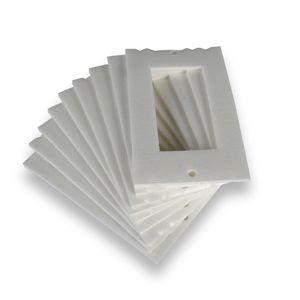 Isolant Prise Blanc 6.5x10.5cm