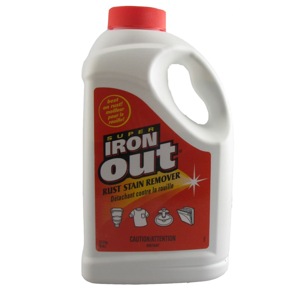 "Iron Out - 5 Lb ""6 Per Case"" 25-02 in Canada"