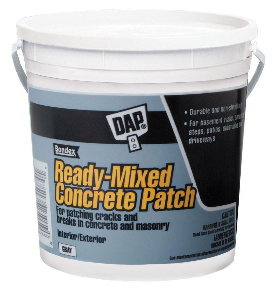 3.8L, Gray, Bondex Concrete Patch (RTU)