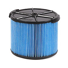 Fine Dust Filter For 11 to 17 L (3 to 4.5 Gal.) Wet Dry Vacuums