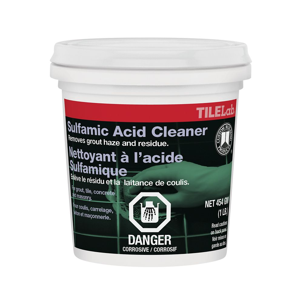 Custom Building Products TileLab Sulfamic Acid Cleaner - 1lb