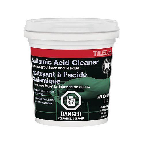 Custom Building Products Nettoyant à lacide sulfamique TileLab  453 g