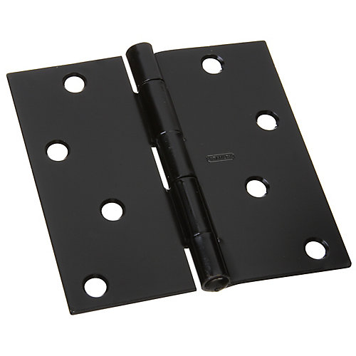 4 inches Broad Non-Removable pin hinge with screws