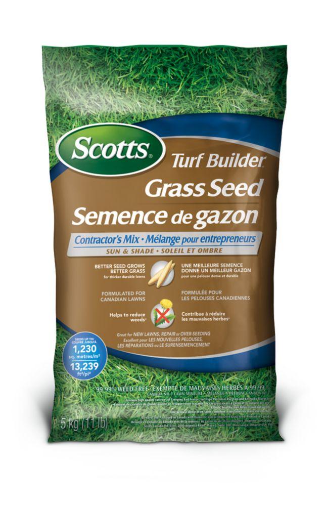 Semence de gazon � Soleil et ombre Scotts Turf Builder - 5 kg