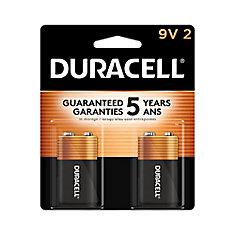 Coppertop 9V Alkaline Batteries 2 count