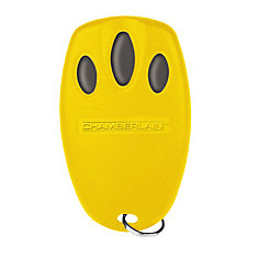 Yellow Mini Three-Button Remote Control