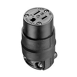 Leviton Connecteur Bipolaire, Trifilaire, 15A, 125 V