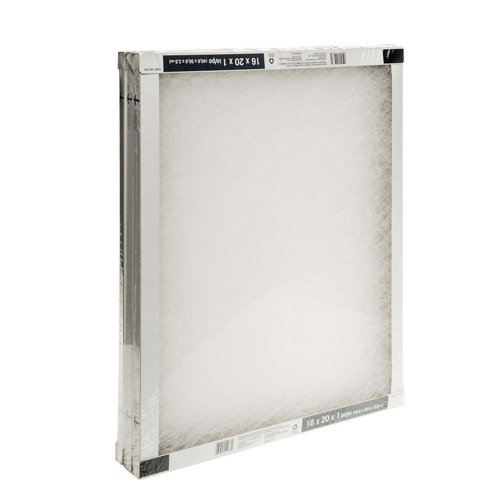 Fiberglass 3-Pack 16X20X1