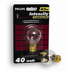 40W High Intensity Bulb Clear