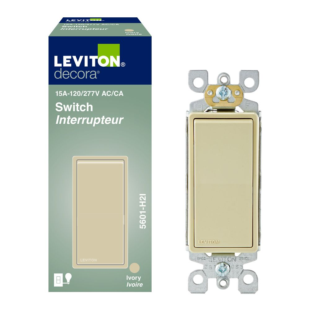 Single Pole Decora Wall Switch