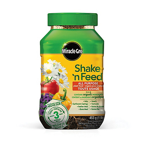 Shake N Feed engrais pour plantes tout usage 12-4-8 453g