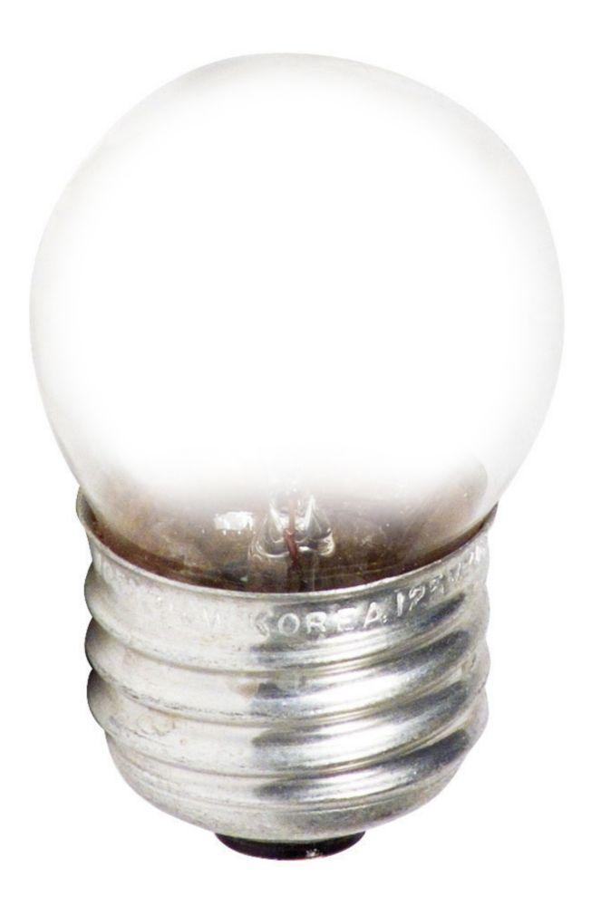 À incandescence S11 7-1/2 W Dindicateur claire 7-1/2 W 120 V