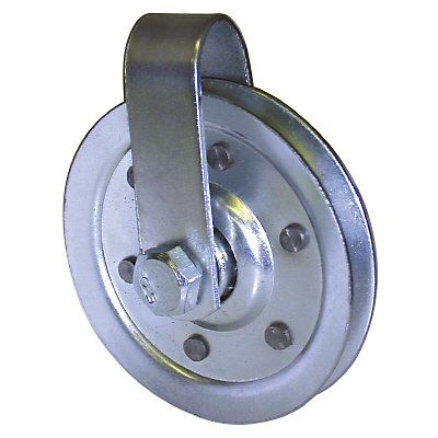 Ideal Security 3 Inch Steel Pulley For Garage Door The Home Depot