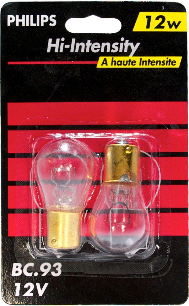 À incandescence lampe claire S8 13.3 W 2/paq.