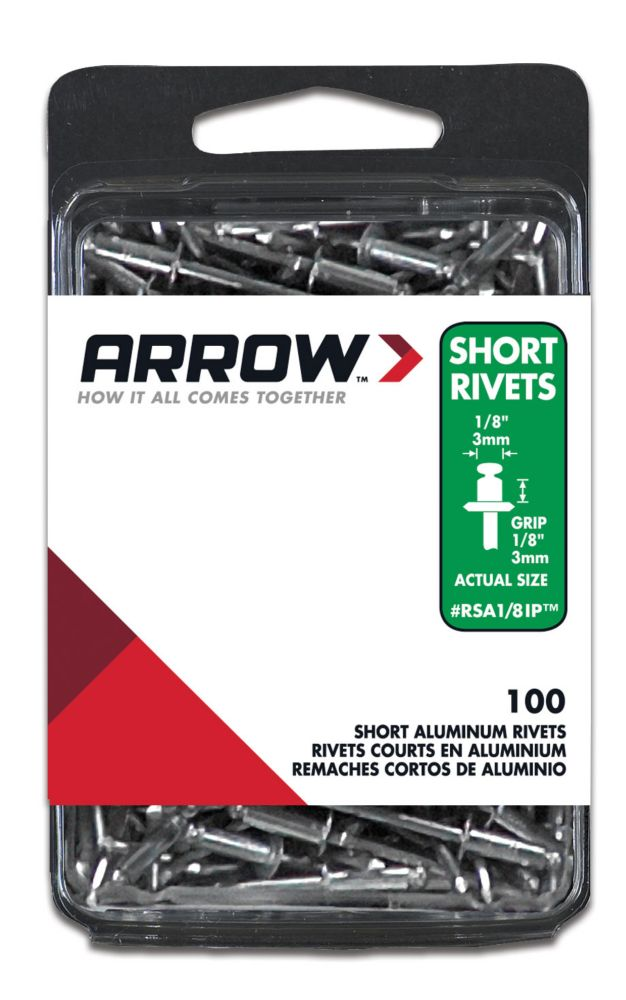 Rivet court aluminum 1/8""