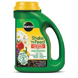 Miracle-Gro Shake N Feed engrais pour plantes tout usage 12-4-8 2.04 kg