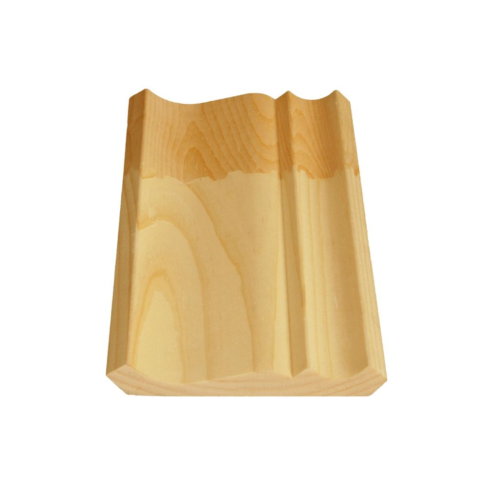Finger Jointed Pine Ogee/Crown 9/16 In. x 4-1/2 In. x 8 Ft.