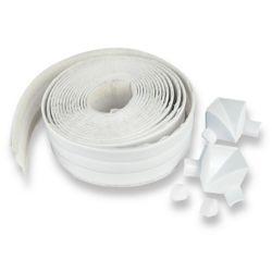 "Seal-A-Crack Tub Surround 1 1/2"" X 11' (3.81 Cm X 3.35 M) Blanc"