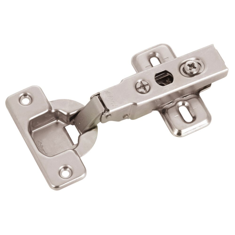 Richelieu Full Overlay Clip Hinge With Plate 100 Degree