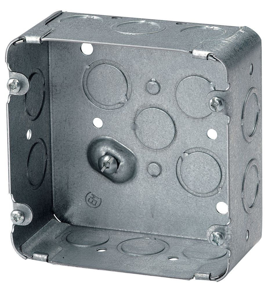 Sq. Range/Dryer Box 2-1/8 In. Deep KO