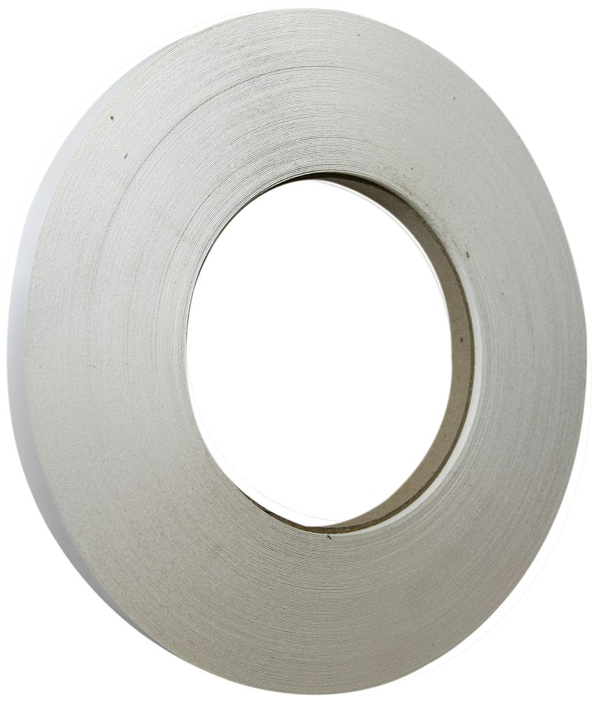 250 Feet x 13/16 Inch White Edge Tape 2Ply P WHITE Canada Discount