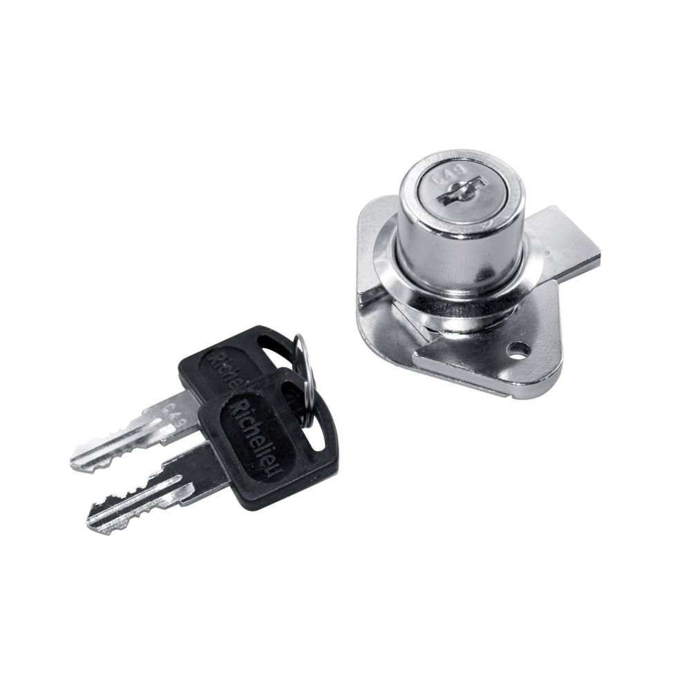 22mm Chrome Drawer Lock
