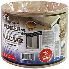 Sheet Veneer 6 Inch x 99 Inch Oak