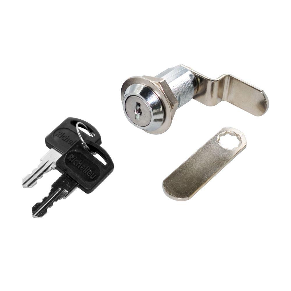 19mm x 30 mm Chrome Cam Lock