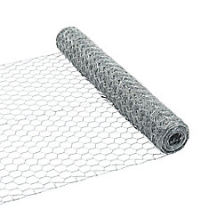 Hex Wire Netting 24 inches x 25 feet - 1 inch