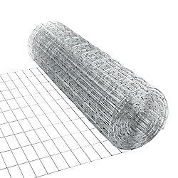 Peak Products Clôture utilitaire galvanisée 2 pouces x 4 pouces 36 pouces x 50 pieds