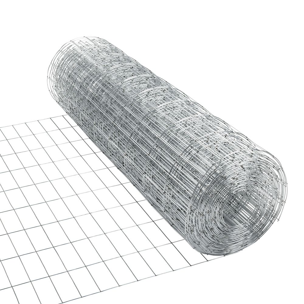 Galvanized Utility Fence 2 inches x 4 inches 36 inches x 50 feet
