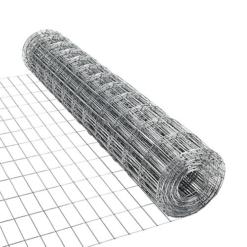 Galvanized Utility Fence 2 inches x 4 inches 48 inches x 50 feet