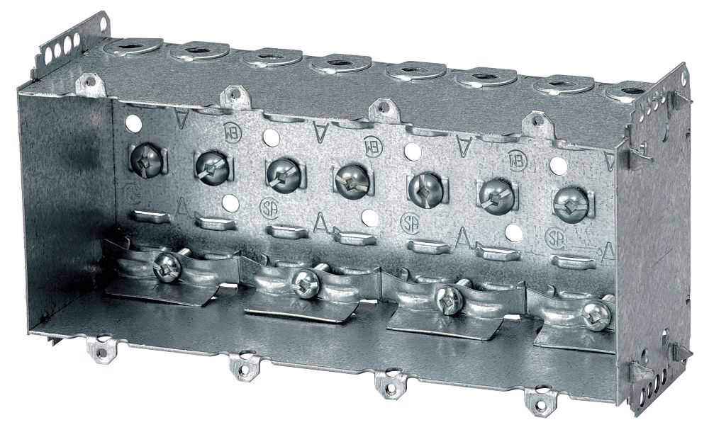 Device Box 2-1/2 In. Deep 4 Gang Loomex