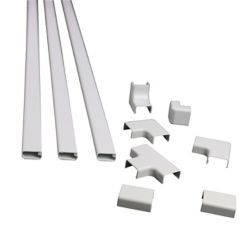 Legrand Wiremold Plastic CordMate II Kit White