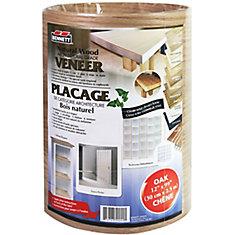 Sheet Veneer 12 Inch x 99 Inch Oak