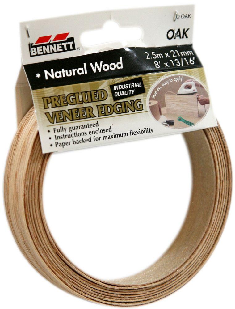 Bennett Sheet Veneer 6 Inch x 99 Inch Oak | The Home Depot Canada