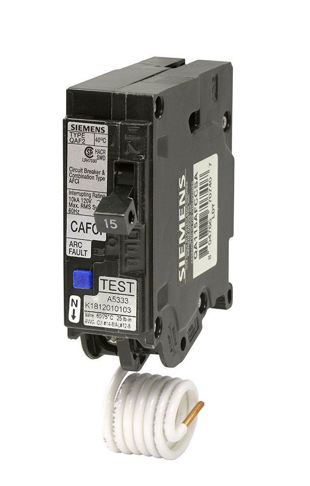 15A 1 Pole 120V Type Q Arc-Fault Breaker