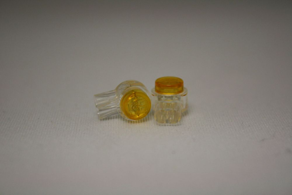 Yellow IDC Connectors 25-Pack