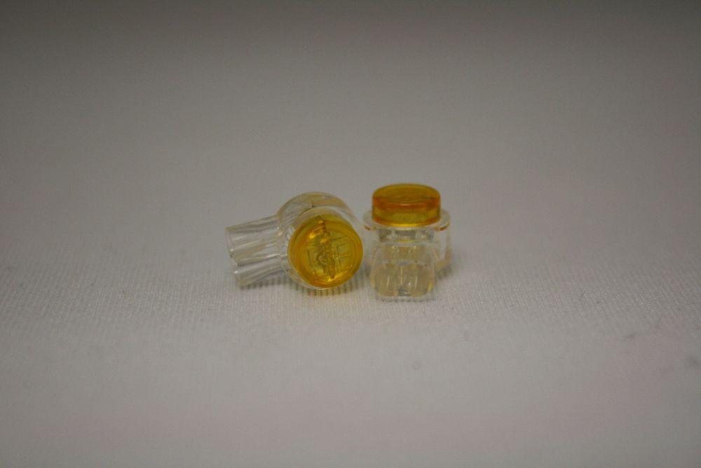 Connecteur IDC jaune, paquet de 25