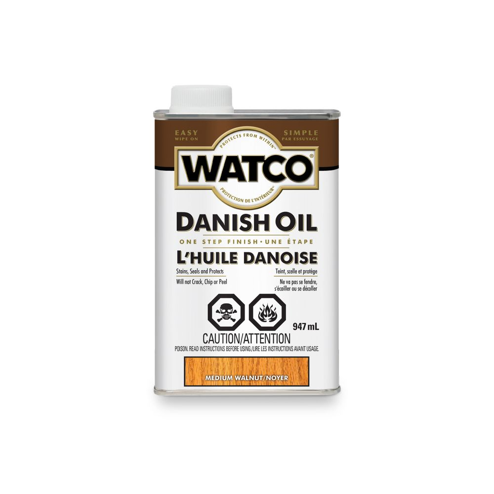 Watco Danish Oil -Med.Walnut -946Ml