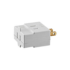 Cube Tap 2 Wire, White