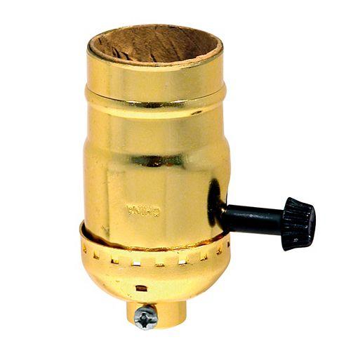 Leviton Socket Trilite, Brass