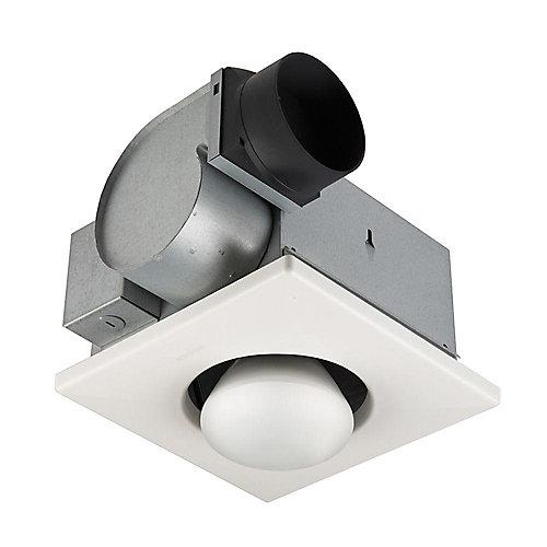 Ventilateur avec une lampe de chauffage