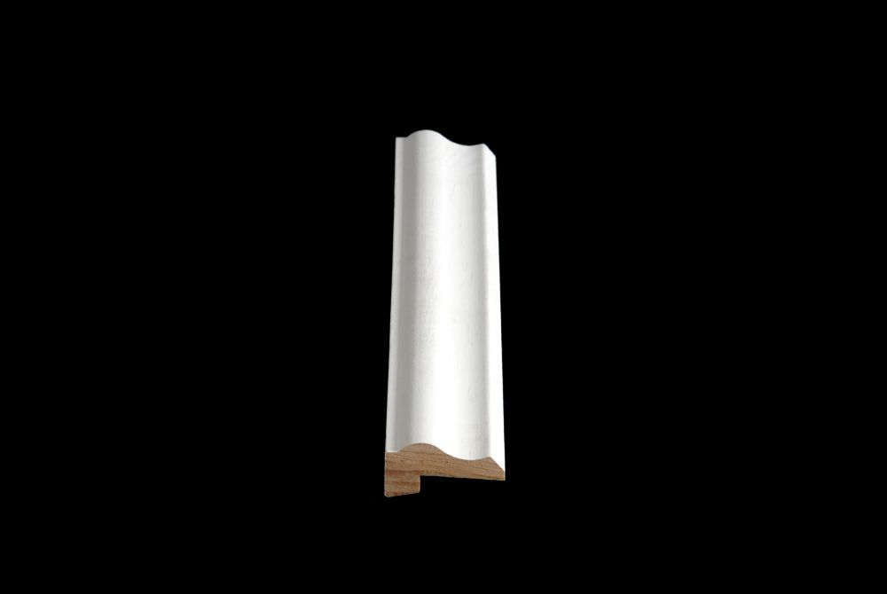 Primed Finger Jointed Pine Ply Cap 13/16 Inches x 1-5/8 Inches X 8 Feet