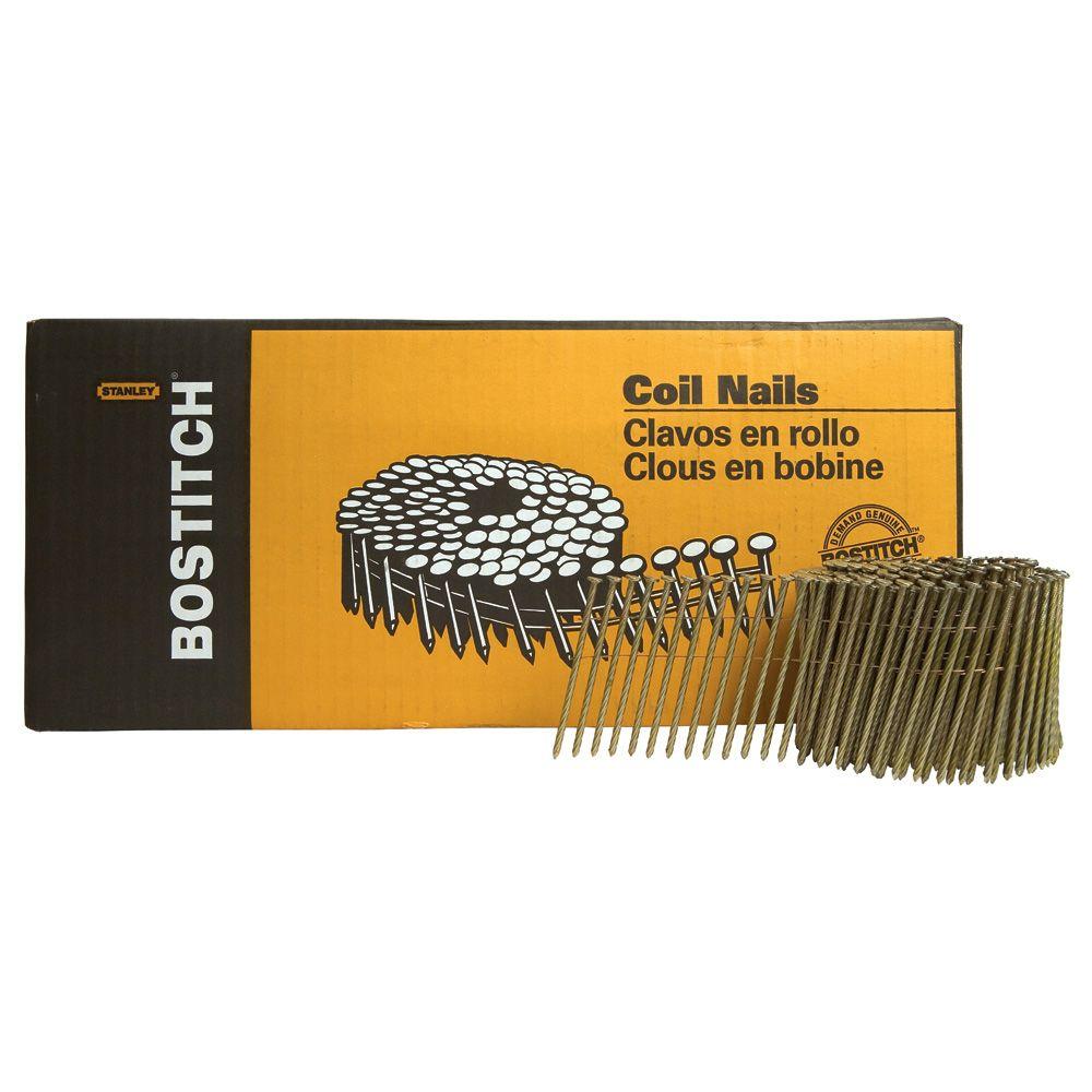 Bostitch Coil Ardox Galvanized Nail -  3 1/4 In.