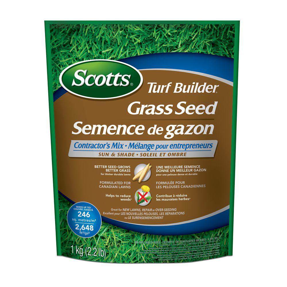 Turf Builder Sun & Shade Grass Seed - 1 Kg