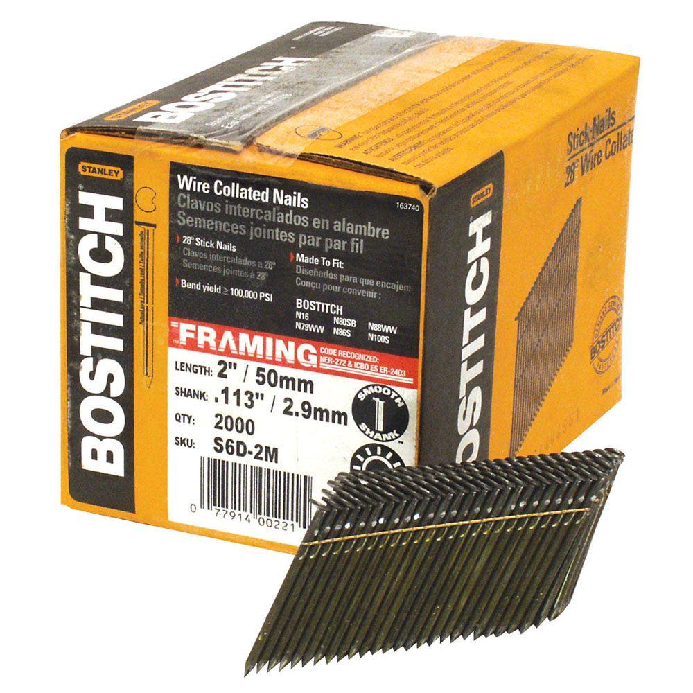 Bostitch Common Stick Nail -  2 In.